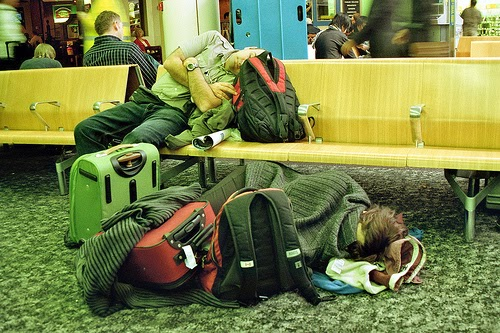Sleeping at the Airport or at Airport Hotels ?