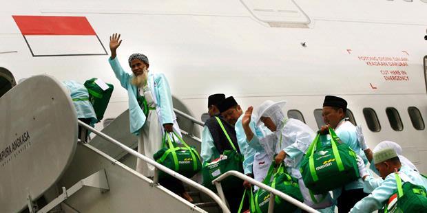 Pesawat Haji Embarkasi Balikpapan