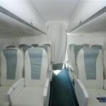 Cabin Sukhoi Superjet 100
