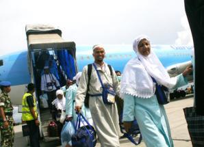 Jadwal Kedatangan Kepulangan Jamaah Haji Banjarmasin