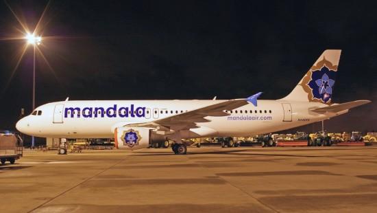 Mandala Airlines Terbang Lagi
