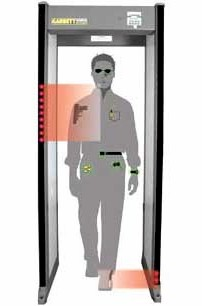 Walk-Through Metal Detector