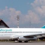 Merpati Airlines Meghentikan Sementara Semua Rute