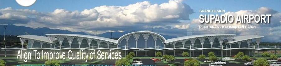 Terminal Baru Bandara Supadio Mampu Layani 1,5 Juta Penumpang