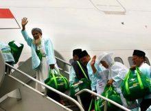 Pesawat Jamaah Haji Balikpapan