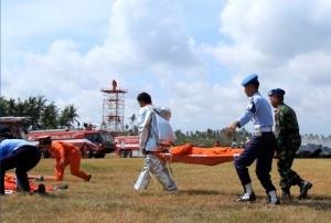 Simulasi Kecelakaan Pesawat Bandara Ngurah Rai