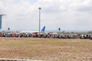 Rekreasi di Bandara Lombok