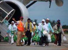 Kepulangan Jamaah Haji Aceh