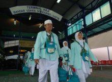Kepulangan jamaah Haji Jawa Barat