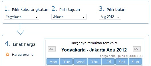 Harga Tiket Pesawat Murah Bulan Agustus