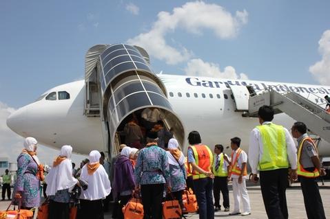 Garuda Indonesia Terbangkan 112.683 Jamaah Haji
