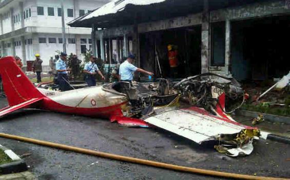 Kecelakaan Pesawat Bravo AS 202 di Bandung