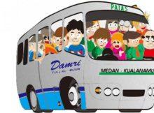 Bus Damri Bandara Kualanamu