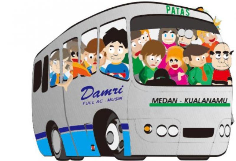 Ongkos Taxi, Bus, Kereta Api di Bandara Kuala Namu