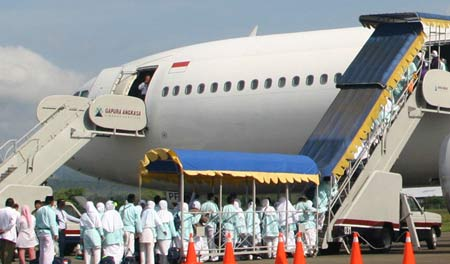 Jadwal Keberangkatan dan Kepulangan Jamaah Haji Embarkasi Banjarmasin 1435 H / 2014 M